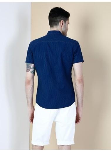 Colin's Kısa Kollu Gömlek Lacivert